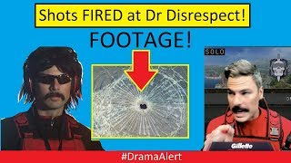 Dr Disrespect shot at on Live Stream (FOOTAGE) ! #DramaAlert GREG PAUL EXPOSED by HACKERS!