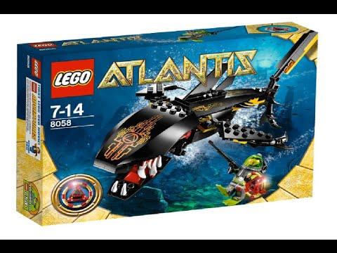 Vidéo LEGO Atlantis 8058 : Le gardien des profondeurs