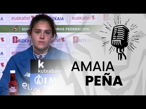 🎙️ Amaia Peña I post Athletic Club 2-2 Real Betis I J3 Primera Iberdrola