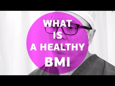 What is a healthy BMI - Body Mass Index
