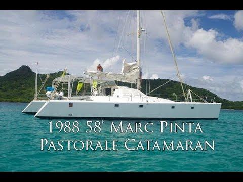 Catamaran Marc Pinta Pastorale video
