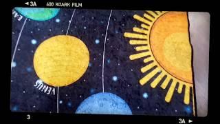 Ковер детский, безворсовый, 100х160см. Турция. Звезды от компании Euro texti VIP - видео 2