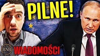 Putin PRZEJĄŁ KONTROLĘ w Europie! Unia STRACIŁA całą WŁADZĘ | WIADOMOŚCI