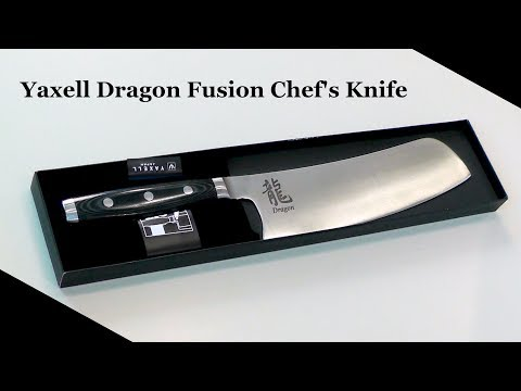 Yaxell Dragon Fusion Chef's Knife Review and Cut Test ~ Best Kitchen Knives ~ Amy Learns to Cook