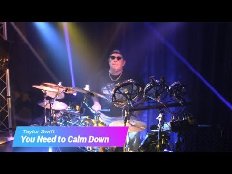 You Need to Calm Down by Taylor Swift - Drum Cover (Modified Alesis Crimson/Laurin Drums Hybrid Kit)
