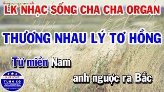 lien-khuc-karaoke-nhac-song-organ-cha-cha-cha-beat-nam-thuong-nhau-ly-to-hong-trach-ai-vo-tinh