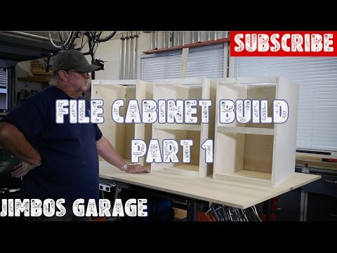Wood File Cabinet Build – Part 1