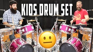 Can You Make a Kids Drum Set Sound Good? rdavidr & Stephen Taylor