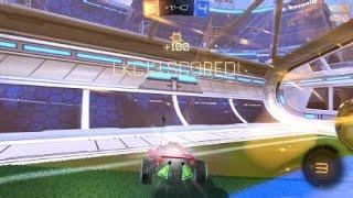 Rocket League® crazy save and goal