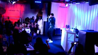 Jon B performing Ooh So Sexy at Aleviar's Moments... with Jon B