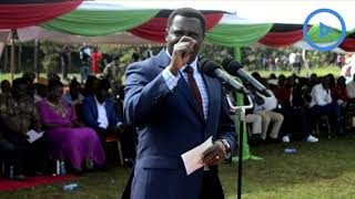 Tharaka-Nithi Governor Muthomi Njuki appeals to health workers to