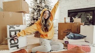 HUGE PACKAGE UNBOXING! VLOGMAS DAY 5!