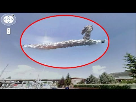 Video 5 Mysterious Events Ever Captured By Google Earth!