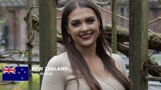 Karla de Beer Contestant from New Zealand for Miss World 2016 Introduction