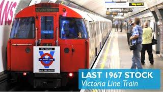 preview picture of video 'Last 1967 Victoria Line Train'