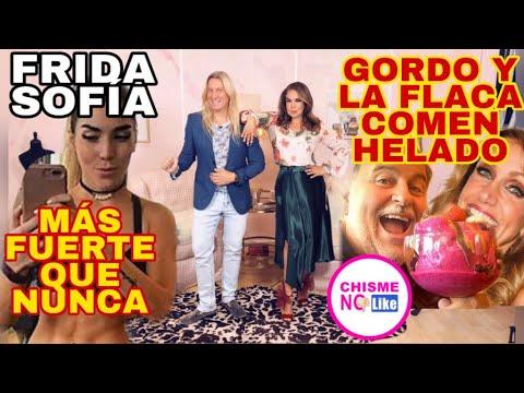 VERONICA CASTRO LE LLAMA GORDA A YOLANDA - FRIDA SOFIA VS GORDO Y FLACA - CHISME NO LIKE