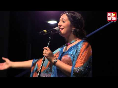 Reportage Live de Nabyla Maan au Festival Méditerranéen d'Al Hoceima avec HIT RADIO