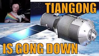 Chinese Space Station Tiangong-1 Crashing Down Soon!