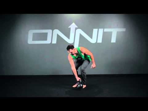 One Arm Bentover Kettlebell Side Row