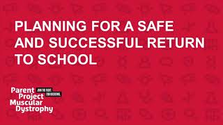 2020 Back-To-School Series: Planning for a Safe and Successful Return to School (August 12, 2020)
