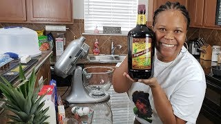 recipe for chocolate rum cake from scratch