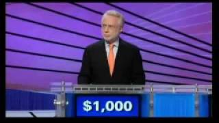 CNN's Wolf Blitzer On Jeopardy Finishes Game With Minus- $4600
