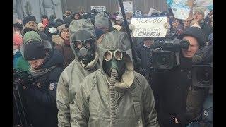 Мусорный майдан в России.