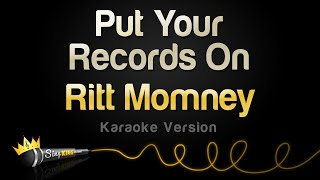 Ritt Momney – Put Your Records On (Karaoke Version)