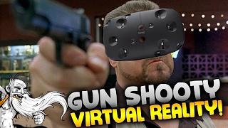 """GUN SHOOTY VIRTUAL REALITY!!!"" - Overkill VR Gameplay Let"