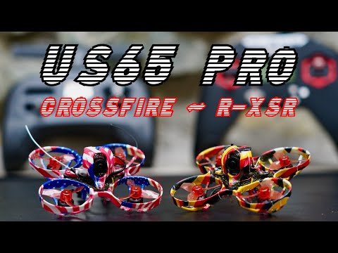 Eachine US65-DE65 Pro long-term review - Crossfire/R-XSR on 65mm 2s tiny whoop!