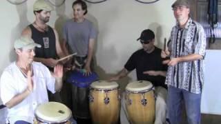 Comparsa (Conga) Afro Cuban Carnival (festival) rhythm for small ensemble