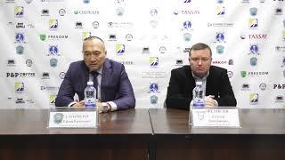 Пресс-конференция тренеров «Алтай Торпедо» - «Ertis»