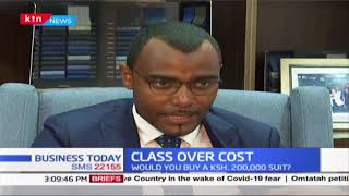 Class over cost: Would you buy sh.200,000 suit?