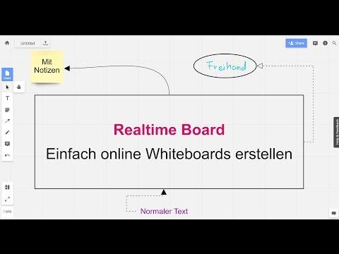 Realtime Board vorgestellt - Einfach online Whiteboards erstellen