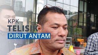 KPK Telisik Dirut Antam tentang Proses Awal Pengadaan QCC di Pelindo II