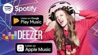 Где слушать музыку? Сравниваем Apple Music, Google Play Music, Spotify и Deezer- обзор от Ники