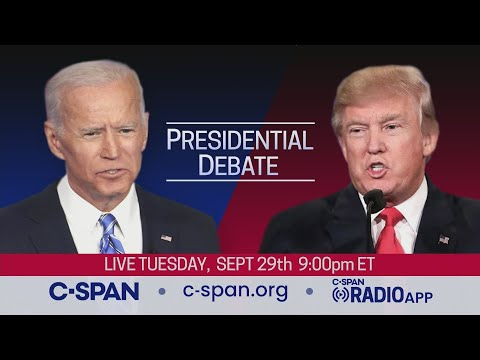 How to live-stream the first 2020 presidential debate
