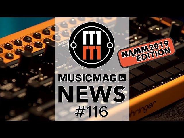 Новости NAMM 2019: Arturia MicroFreak, Moog Sirin, Behringer Crave и др.