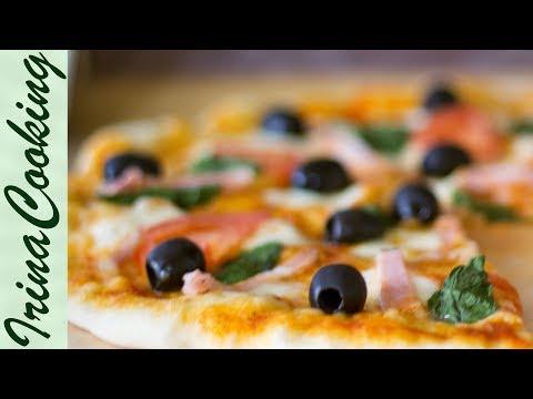 Самое Удачное ТЕСТО для Пиццы 🍕 Рецепт Быстрого Дрожжевого Теста для Пиццы ✧ Ирина Кукинг