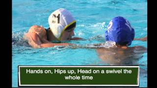 Water Polo 101:  Defense (Updated)