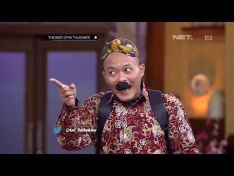 The Best Of Ini Talkshow - Pak Wibowo Akting Coach Bahasa Jawa