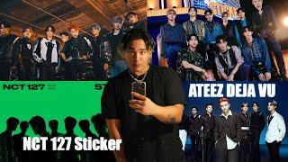 NCT 127 - Sticker & Ateez - DEJA VU MV Reaction