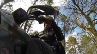 preview picture of video 'Gita in quad a Pergine Valdarno 09-03-14'