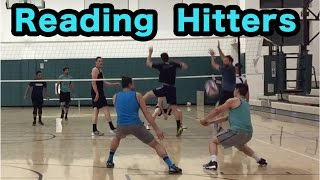 READING Hitters PART 1/2 - Volleyball Defense Tutorial