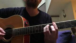 The Beast in Me Nick Lowe guitar part tutorial
