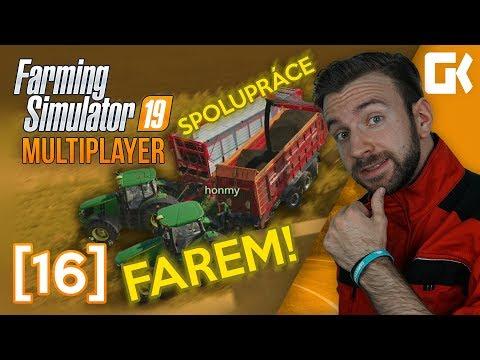 SPOLUPRÁCE FAREM! | Farming Simulator 19 Multiplayer #16