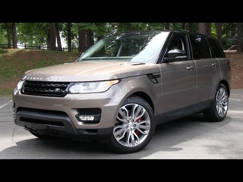 2015 Range Rover Sport Supercharged Start Up, Road Test, and In Depth Review
