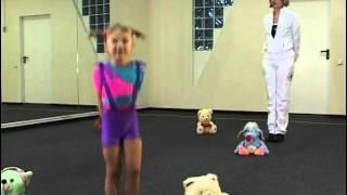 Смотреть онлайн Базовая программа детской аэробики