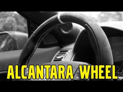 Project V50, Episode 57: Elevate Alcantara Steering Wheel