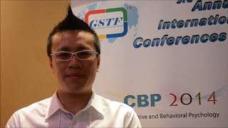 Mr. Chew Kia Hong Peter at CBP Conference 2014 by GSTF